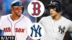 Boston Red Sox vs New York Yankees Highlights (Game 2) | August 3, 2019 (2019 MLB Season)