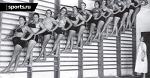 Черно-белые (и цветные) лики советского спорта - 157