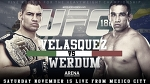 Веласкес против Вердума. Статистическое превью главного боя UFC 188 - Cageside