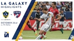 HIGHLIGHTS: LA Galaxy vs. FC Dallas | October 23rd, 2016