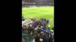 Guus Hiddink fell down on the ground after Chelsea 2 - 2 Tottenham fight