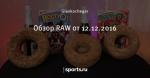 Обзор RAW от 12.12.2016