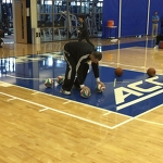 "Tim Bontemps on Instagram: ""Prokhorov doing push-ups with four basketballs"""