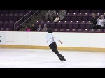 2015 ISU Jr. Grand Prix- Colorado Springs Men Short Program Nathan CHEN USA