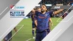 David Villa wins Alcatel Player of the Month in June