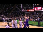 Alex Len Attacks the Rack for the One-Handed Stuff