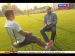 Дмитрий Аленичев дал интервью телеведущему канала Россия 2