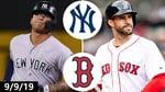 Yankees vs. Red Sox Highlights | September 9, 2019 | 2019 MLB Season