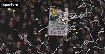Матч бундеслиги приостановили из-за фанатов. Они забросали поле теннисными мячиками