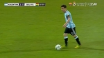 Leo Messi crazy skill run vs Bolivia