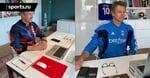 Ван Дер Сар фоткается на карантине в свитерах из прошлого. Уже были «Аякс», «Юве», «Фулхэм» и Нидерланды-98