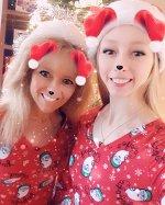 """Bradie Tennell on Instagram: """"Merry Christmas!!!🎄 #matchingpajamas #christmas #xmas"""""""