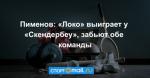 Пименов: «Локо» выиграет у «Скендербеу», забьют обе команды