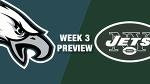 Eagles vs. Jets Preview (Week 3)   NFL