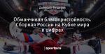Обманчивая благопристойность. Сборная России на Кубке мира в цифрах