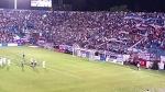 """El gol de Recoba en """"su noche""""."""