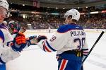 Jesse Puljujärvi ja ensimmäinen harjoituspeli Oilersin paidassa (2+1)