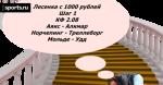 Лесенка с 1000 рублей. Шаг 1: Аякс - Алкмар, Норчепинг - Треллеборг, Мольде - Удд