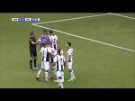 Heracles striker Paul Gladon misses two separate penalties in a minute v Willem II