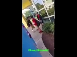 Kid getting picked on by a bully at school finally hads enough. MMA style almost breaks arm