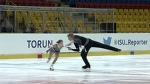 2015 ISU Jr Grand Prix - Torun Pairs Free Ekaterina BORISOVA / Dmitry SOPOT RUS