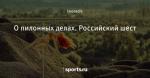 О пилонных делах. Российский шест