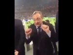 """Florentino Perez to Barca fan at San Siro: """"You have 5, we have 11."""" [ laughs ]"""