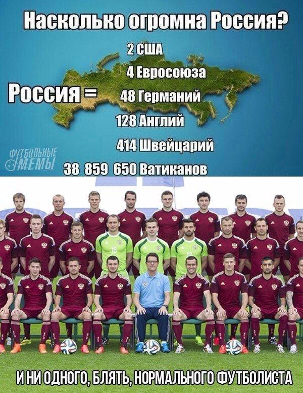 Приколы про сборную россии по футболу картинки
