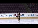 2015 ISU Jr. Grand Prix Colorado Springs Pairs Short Program GUBANOVA / SINTSOV RUS