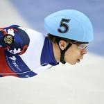 Елистратов выиграл второе золото на ЧЕ по шорт-треку в Сочи