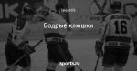 Бодрые клюшки - Был такой хоккей - Блоги - Sports.ru