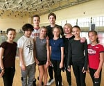 "Tutberidzegirls 💞⛸️ on Instagram: ""Summercamp in Novogorsk 💪 A part of Team Tutberidze skaters with Shoma Uno 🌟😎 @anna__shcherbakova_ #annashcherbakova @avtrusova…"""
