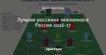 Лучшие россияне чемпионата России 2016-17