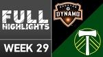 HIGHLIGHTS | Houston Dynamo 3-1 Portland Timbers