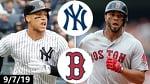 New York Yankees vs. Boston Red Sox Highlights | September 7, 2019