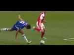 Diego Costa vs. Koscielny & Mustafi (funny)