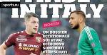 Сделано в Италии. Заголовки Gazzetta, TuttoSport и Corriere за 8 февраля