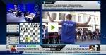 Her scorer Magnus Carlsen poeng mot noen av landets beste basketballspillere