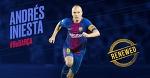 «Барселона» подписала с Иньестой контракт до конца карьеры