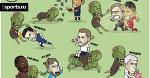Как бы сражались бы игроки, случись зомби-апокалипсис