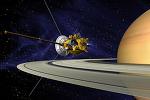 Станция Cassini показала фотографию сатурнианской Тефии