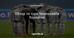 Обзор 10 тура Чемпионата Хорватии
