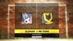 37й тур. Олдхэм Атлетик - МК Донс 1:3 (0:2) - спокойно и без нервов + ВИДЕО - MK Dons (ex - Wimbledon FC) - Блоги - Sports.ru