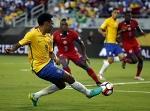 Сборная Бразилии разгромила команду Гаити в матче Кубка Америки