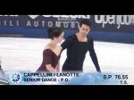 Anna CAPPELLINI / Luca LANOTTE FD Campionati Italiani Assoluti 2015