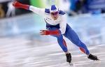 Конькобежец Руслан Мурашов выиграл первый старт на 500 м на заключительном этапе КМ