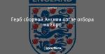 Герб сборной Англии после отбора на Евро
