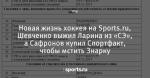 Новая жизнь хоккея на Sports.ru, Шевченко выжил Ларина из «СЭ», а Сафронов купил  Спортфакт, чтобы мстить Знарку