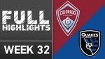 HIGHLIGHTS | Colorado Rapids vs. San Jose Earthquakes