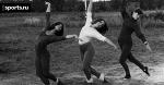 Черно-белые (и цветные) лики советского спорта - 101